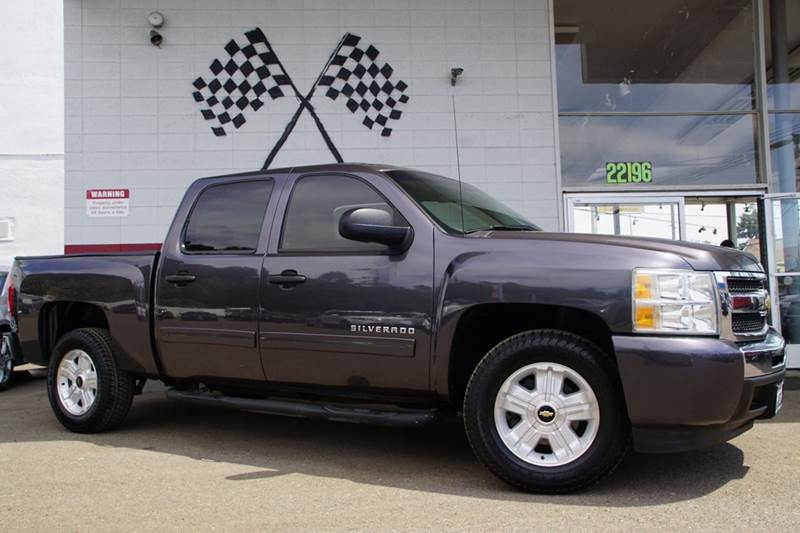 2011 CHEVROLET SILVERADO 1500 LT 4X2 4DR CREW CAB 58 FT SB taupe gray metallic abs - 4-wheel a