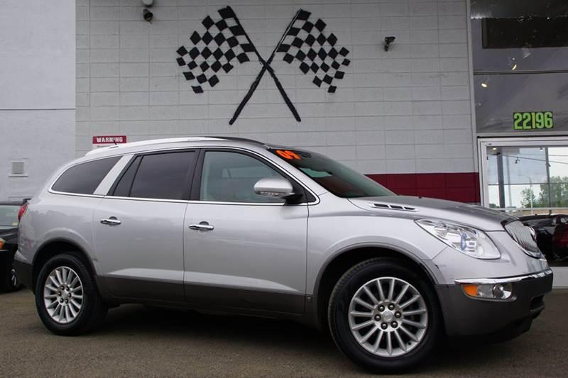 2009 BUICK ENCLAVE CXL 4DR SUV quicksilver metallic 2-stage unlocking doors abs - 4-wheel airba