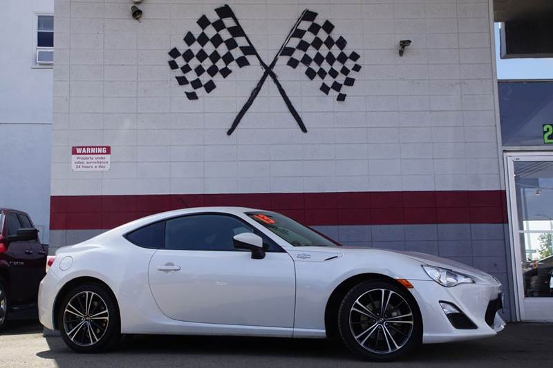 2013 SCION FR-S BASE 2DR COUPE 6A whiteout 2-stage unlocking doors abs - 4-wheel active head re