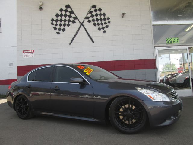 2007 INFINITI G35 SPORT 4DR SEDAN 35L V6 5A grey super clean infiniti g35 loaded with leather