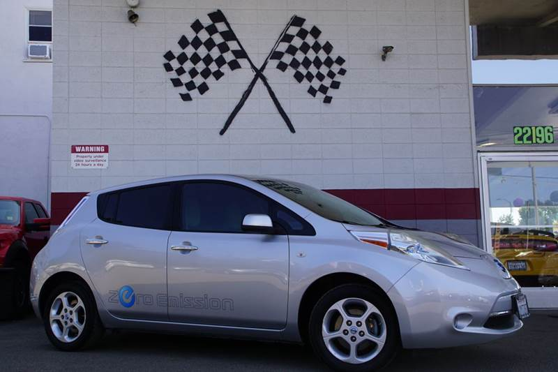2011 NISSAN LEAF SL 4DR HATCHBACK abs - 4-wheel active head restraints - dual front airbag deact