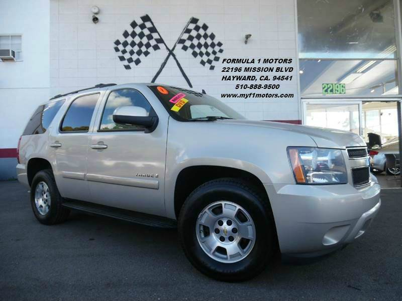2007 CHEVROLET TAHOE LT 4DR SUV gold this is a very nice chevy tahoe perfect for the family loa