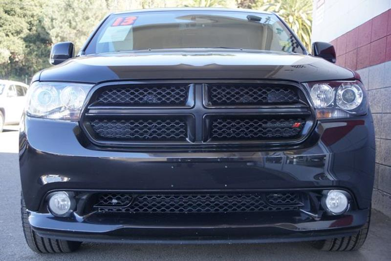 2013 DODGE DURANGO RT 4DR SUV brilliant black crystal pearl exhaust - dual tipgrille color - ac