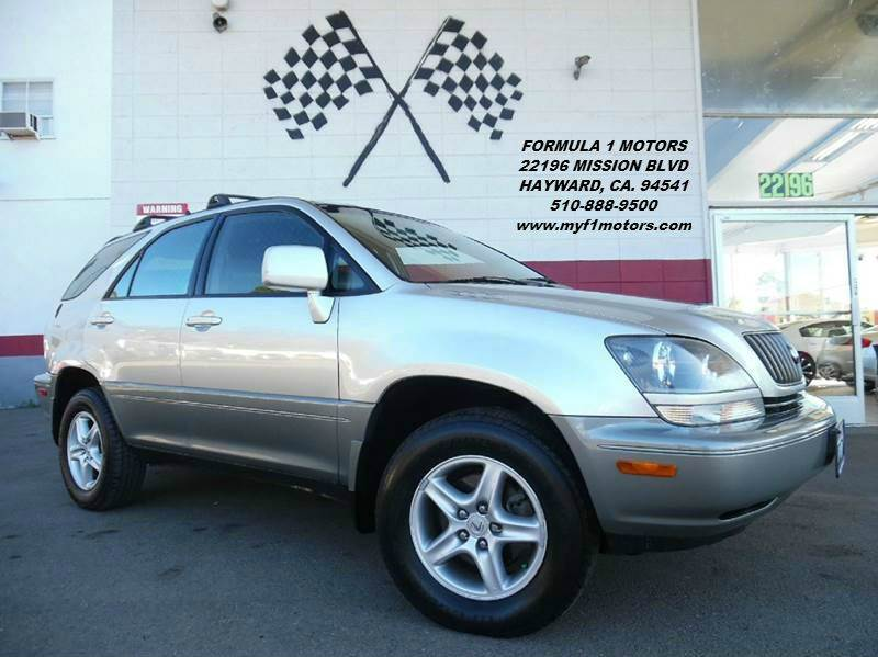 1999 LEXUS RX 300 AWD 4DR SUV silver abs - 4-wheel antenna type - power anti-theft system - ala