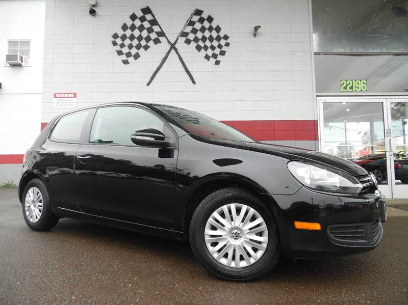 2010 VOLKSWAGEN GOLF 25L PZEV 2DR HATCHBACK 6A black vin wvwbb7aj1aw219213 this vehicle is grea