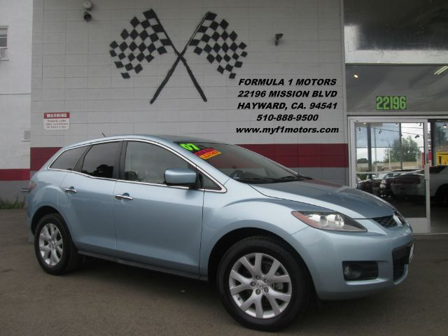 2007 MAZDA CX-7 GRAND TOURING 4DR SUV blue loaded - leather - moon roof - navigation - rear view