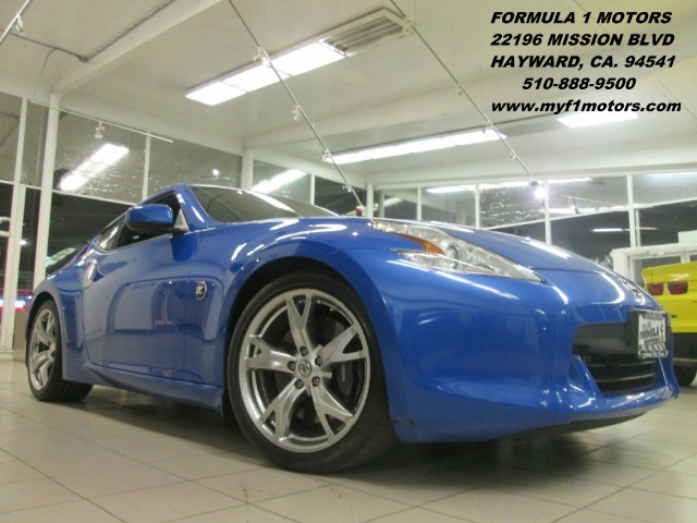 2009 NISSAN 370Z TOURING monterey blue this is a extra clean nissan 370z very sporty 6 speed man