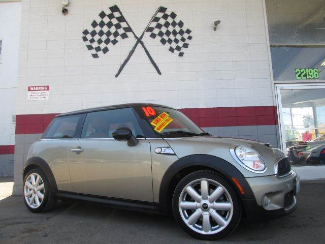2010 MINI COOPER S 2DR HATCHBACK gold 2-stage unlocking abs - 4-wheel air filtration airbag de