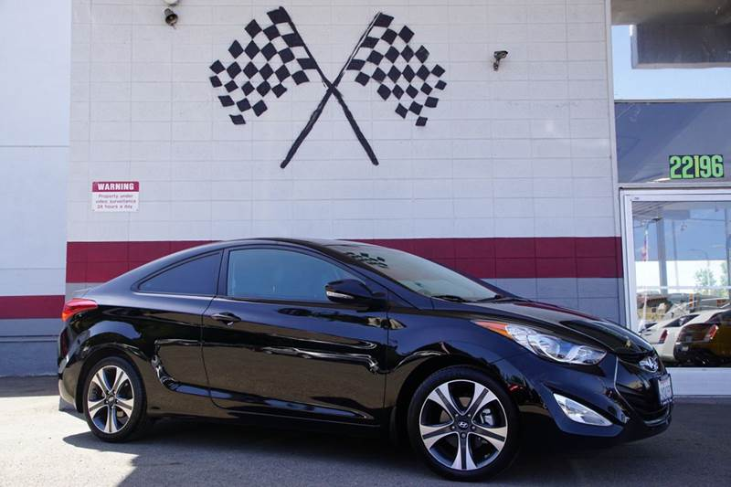 2013 HYUNDAI ELANTRA COUPE GS 2DR COUPE midnight black 2-stage unlocking doors abs - 4-wheel ac