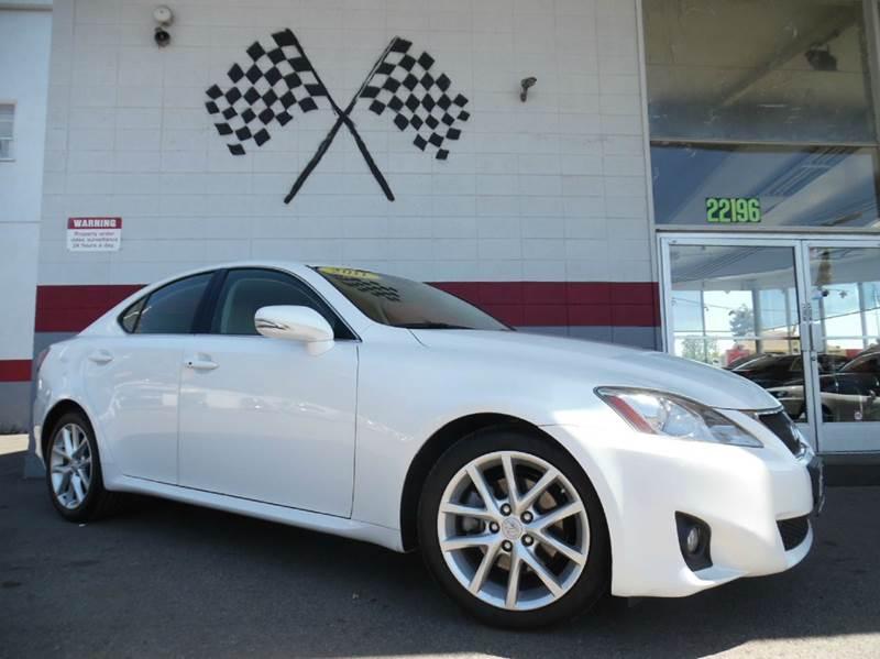 2011 LEXUS IS 250 4DR SEDAN 6A white vinjthbf5c29b5132972 this is a very nice lexus is250 in pe