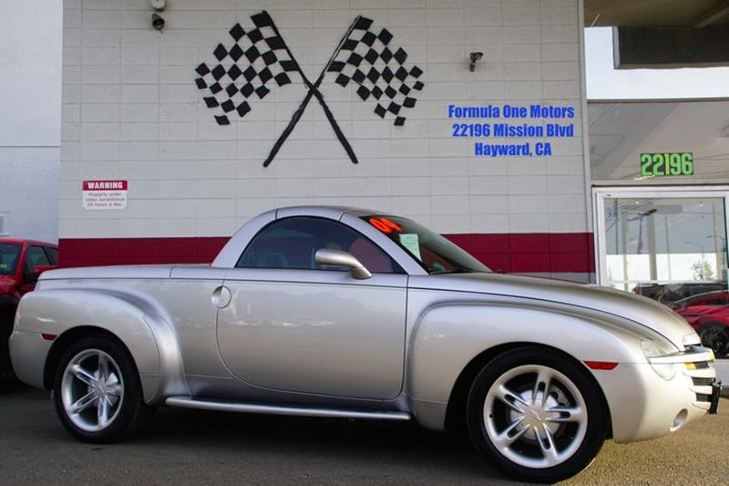 2004 CHEVROLET SSR LS 2DR REGULAR CAB CONVERTIBLE R ricochet silver metallic meet our metallic 20