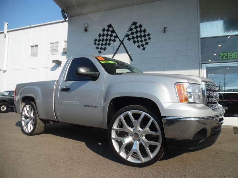 2011 GMC SIERRA 1500 WORK TRUCK 4X2 2DR REGULAR CAB 6 silver vin 1gtn1tea8bz385859   this unit i