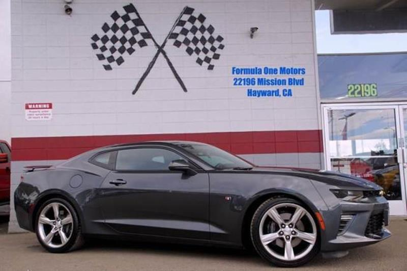 2017 CHEVROLET CAMARO SS 2DR COUPE W1SS nightfall gray metallic reward yourself with high perfor