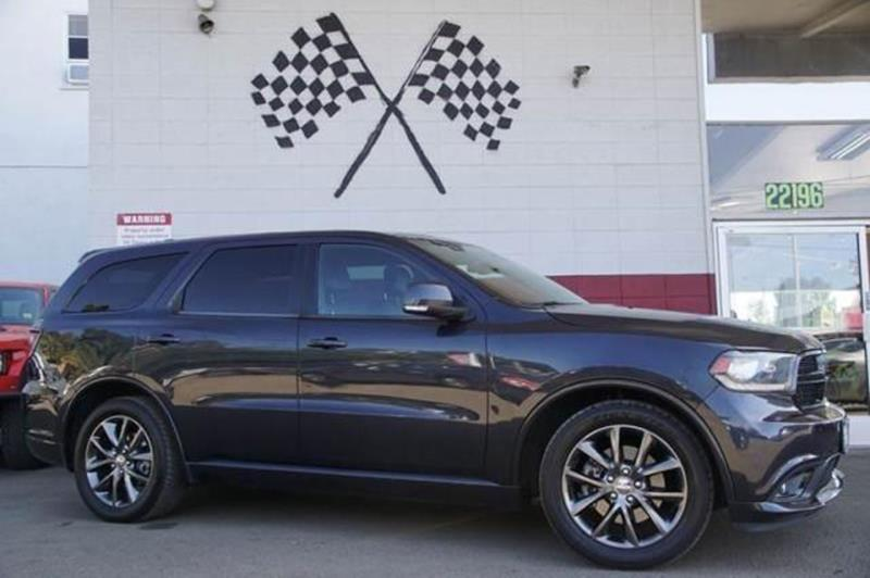 2014 DODGE DURANGO RT 4DR SUV gray our fierce 2014 dodge durango rt shown in granite crystal me
