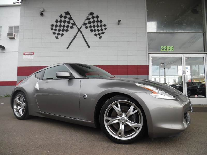 2009 NISSAN 370Z BASE 2DR COUPE 6M grey vin jn1az44e69m410575 smooth riding nissan 370z 6 speed
