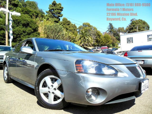 2008 PONTIAC GRAND PRIX SEDAN gray 38l v6 automatic leather heated seat moon roof air conditio