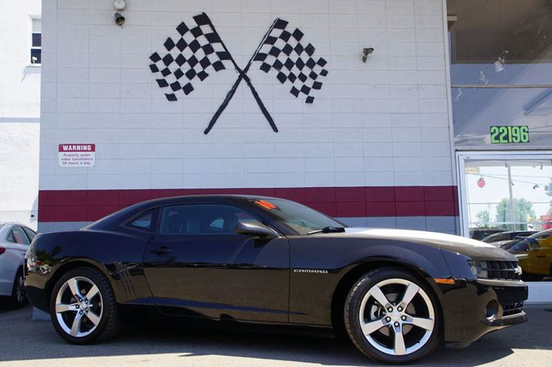 2010 CHEVROLET CAMARO LT 2DR COUPE W2LT black abs - 4-wheel air filtration airbag deactivation