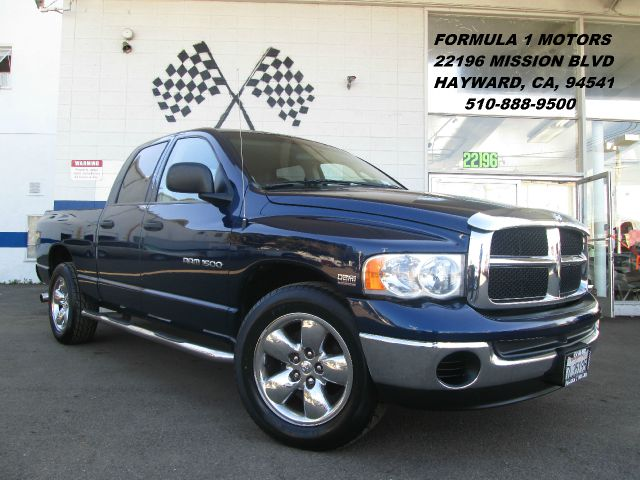 2004 DODGE RAM 1500 SLT QUAD CAB SHORT BED 2WD blue abs brakesair conditioningamfm radioanti-b