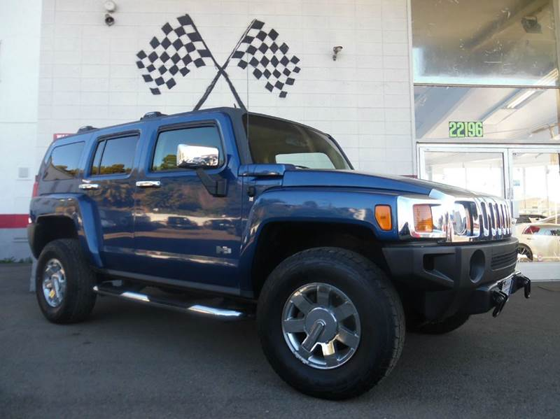 2006 HUMMER H3 BASE 4DR SUV 4WD blue 4wd type - full time abs - 4-wheel airbag deactivation - o