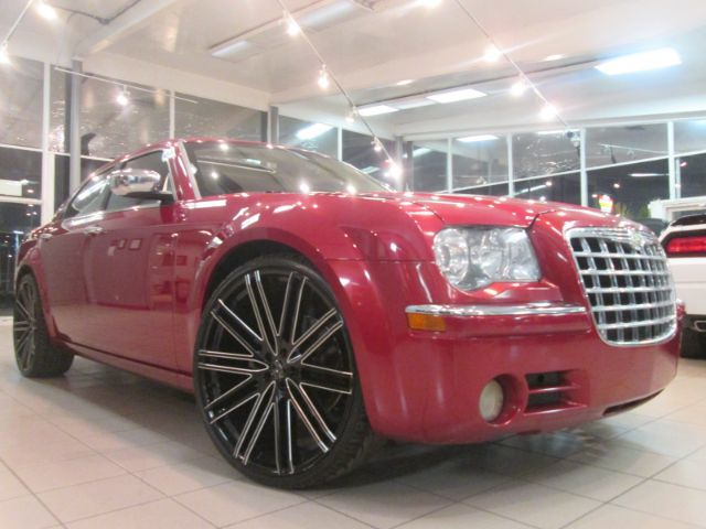 2008 CHRYSLER 300 C HEMI 4DR SEDAN red 2-stage unlocking - remote abs - 4-wheel adjustable peda