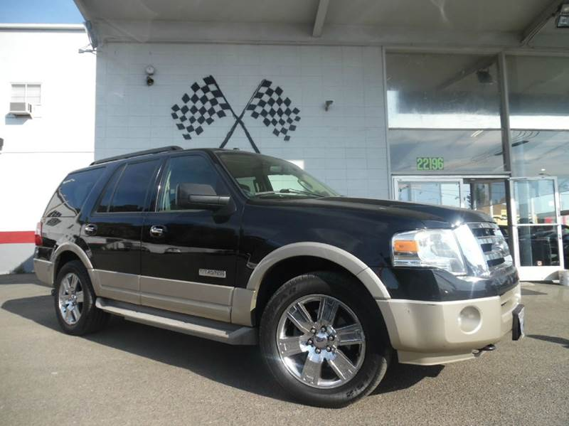 2007 FORD EXPEDITION EDDIE BAUER 4DR SUV 4X4 black this unit is great condition this car is sup