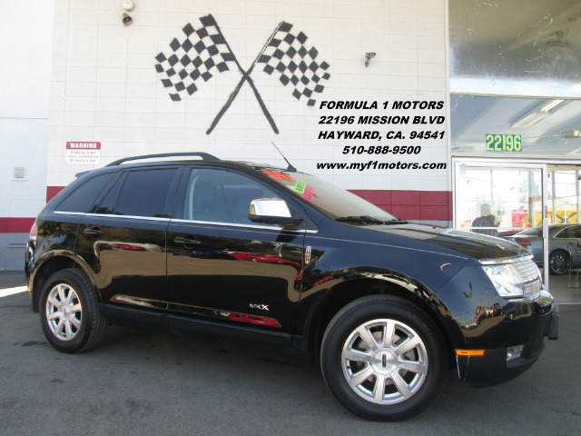 2008 LINCOLN MKX BASE 4DR SUV black 2-stage unlocking - remote abs - 4-wheel antenna type - mast