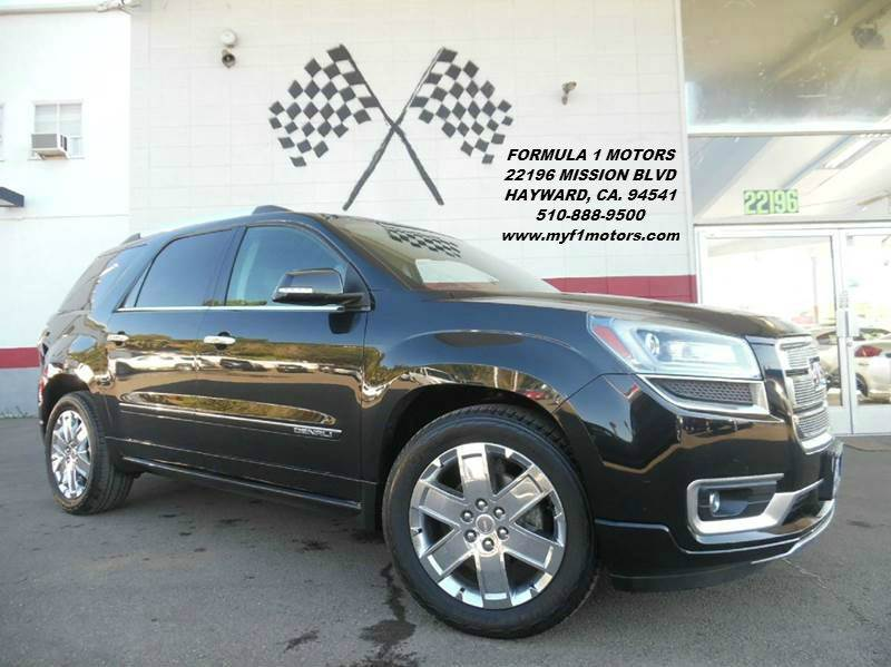 2014 GMC ACADIA DENALI 4DR SUV black this is a gorgeous 2014 gmc acadia denali version closest yo