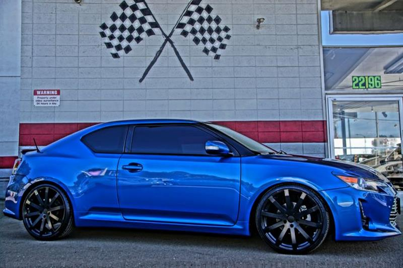 2014 SCION TC blue streak metallic make a great first impression with our sleek 2014 scion tc cou