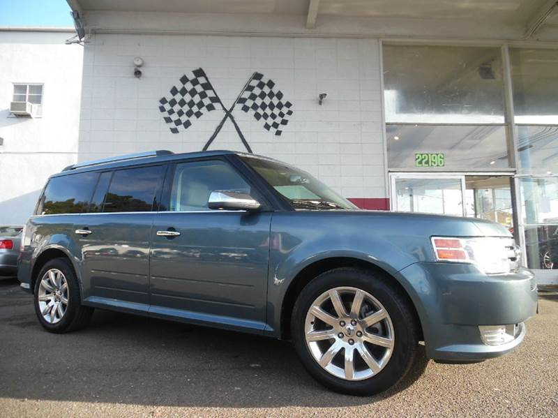 2010 FORD FLEX LIMITED 4DR CROSSOVER dark ink blue metallic vin 2fmgk5dc1abb36319 this ford flex