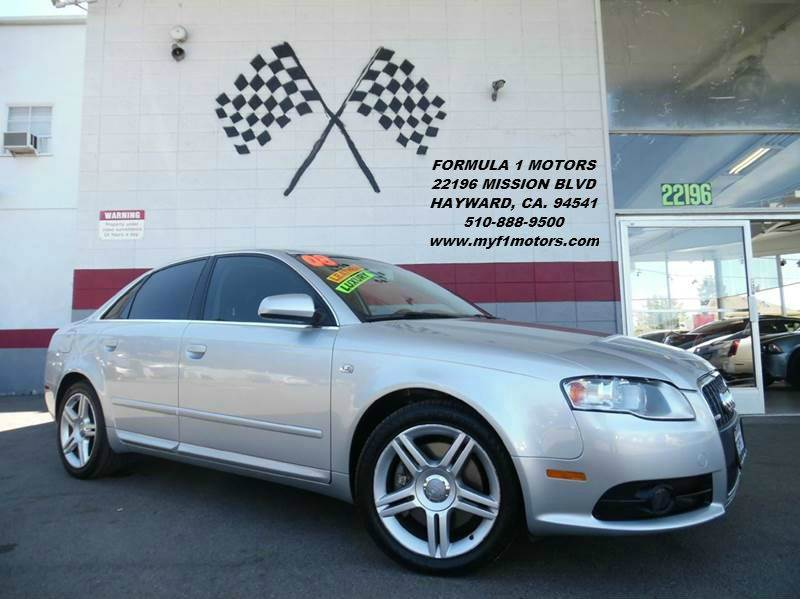 2008 AUDI A4 20T 4DR SEDAN 2L I4 CVT silver super clean leather - moon roof - nice smooth r