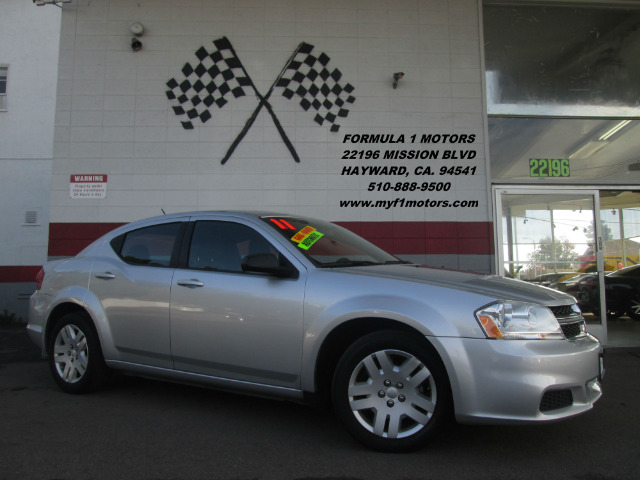 2011 DODGE AVENGER EXPRESS 4DR SEDAN silver this is a very nice dodge avenger great first car c