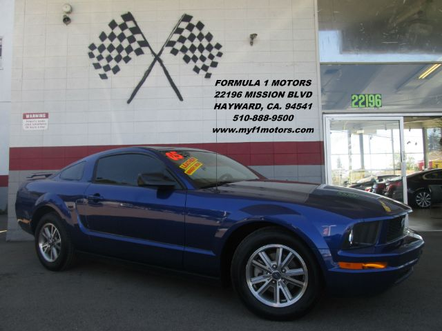 2005 FORD MUSTANG V6 DELUXE 2DR COUPE blue super clean ford mustang black leather interior navi