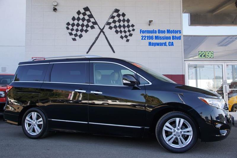 2012 NISSAN QUEST 35 SL 4DR MINI VAN super black because you want more out of your minivan than