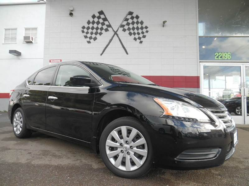 2013 NISSAN SENTRA S 4DR SEDAN CVT black vin 3n1ab7ap1dl785935 this nissan sentra is a great veh