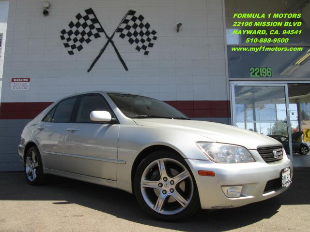 2003 LEXUS IS 300 BASE 4DR SEDAN silver 17 inch wheels abs - 4-wheel alloy wheels anti-theft al
