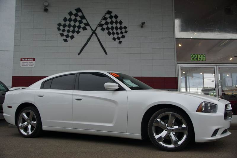 2013 DODGE CHARGER SE 4DR SEDAN bright white clearcoat 2-stage unlocking doors abs - 4-wheel act