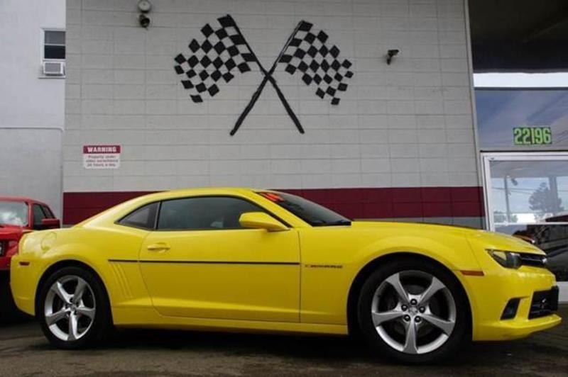 2014 CHEVROLET CAMARO SS 2DR COUPE W2SS bright yellow experience ultimate power and performance