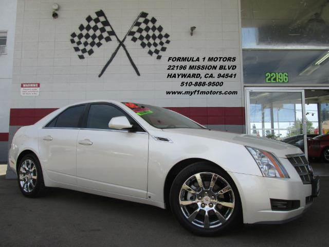 2008 CADILLAC CTS 36L DI SEDAN WHIGH FEATURE pearl white luxury car  very nice and super clean