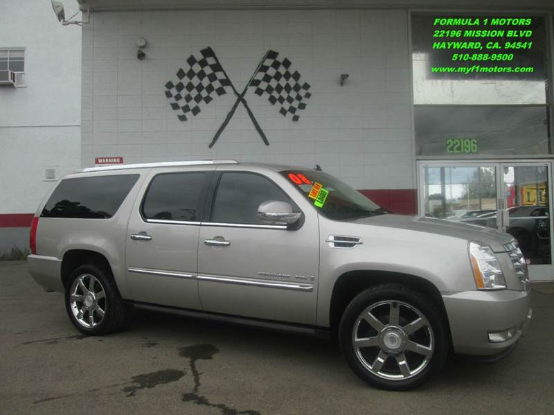 2008 CADILLAC ESCALADE ESV BASE AWD 4DR SUV gold mist metallic 2-stage unlocking - remote 4wd ty
