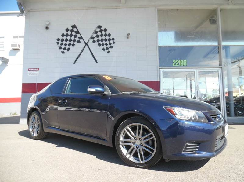 2011 SCION TC BASE 2DR COUPE 6A blue this beautiful scion is a great car with a gorgeous interior