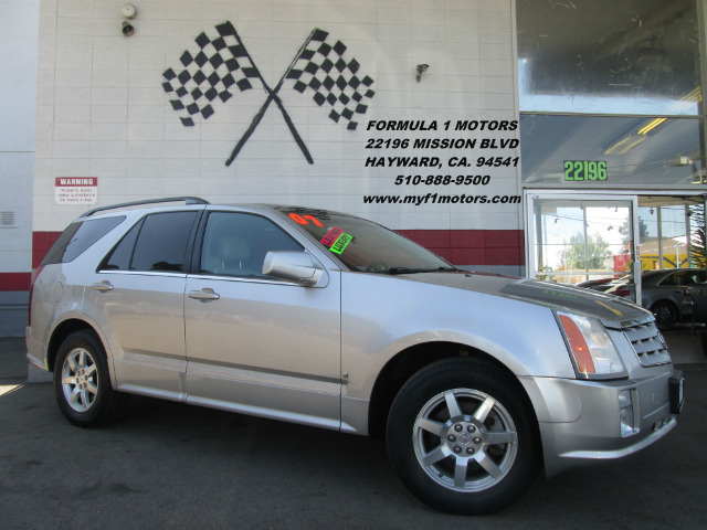 2007 CADILLAC SRX V6 4DR SUV silver this is not your normal cadillac srx  this one is loaded to
