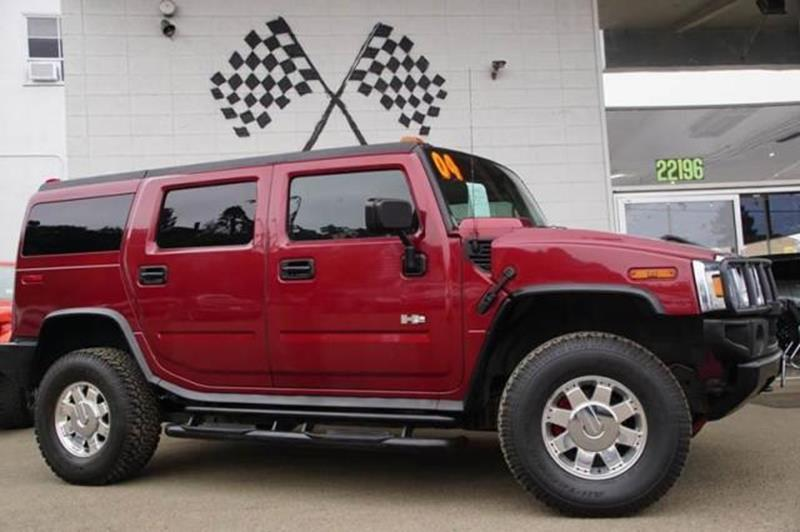 2004 HUMMER H2 LUX SERIES 4WD 4DR SUV red metallic whether you are shopping for a 2004 hummer h2