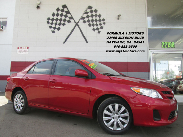 2012 TOYOTA COROLLA LE 4DR SEDAN 4A red this toyota corolla is the closest you will find to brand