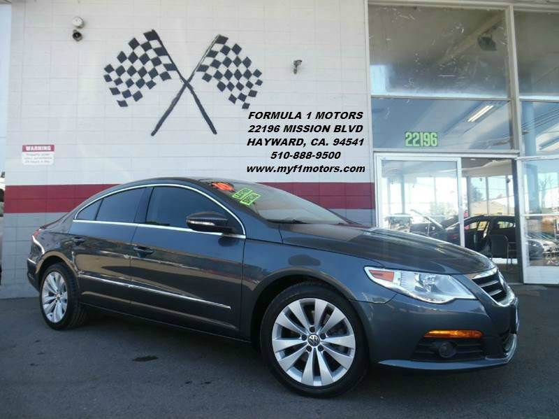 2010 VOLKSWAGEN CC SPORT PZEV 4DR SEDAN 6A grey this is a super clean volkswagon cc gorgeous bla