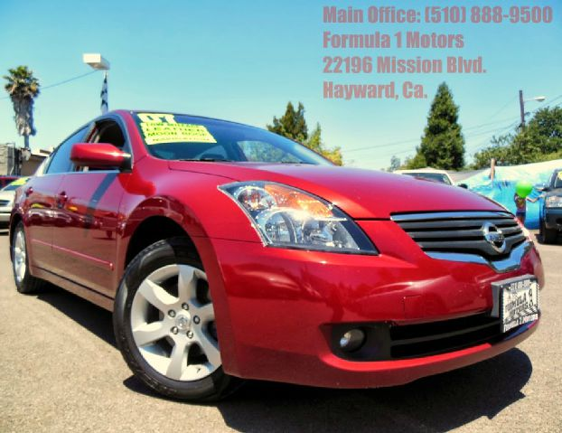 2007 NISSAN ALTIMA 25 SL red 25l 16v automatic moon roof leather navigation park assist w c
