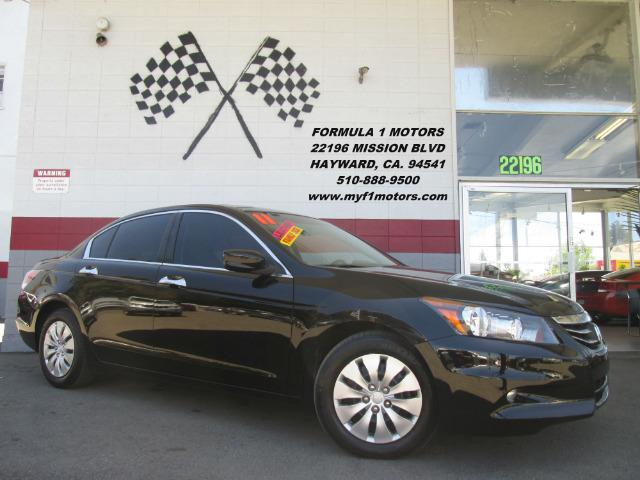 2011 HONDA ACCORD EX-L V6 WNAVI 4DR SEDAN WNAVI black this is a very nice honda accord  its loa