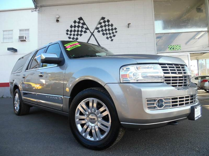 2008 LINCOLN NAVIGATOR L BASE 4DR SUV 4WD grey 2-stage unlocking - remote 4wd type - part time w
