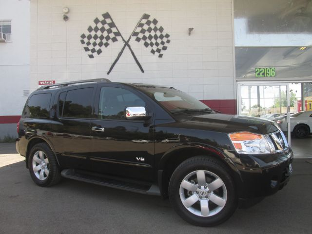2008 NISSAN ARMADA LE 4X2 WAGON SUV black super clean nissan armada gorgeous black on black colo