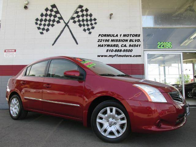 2011 NISSAN SENTRA 20 4DR SEDAN CVT red very nice nissan sentra excellent on gas smooth ride v