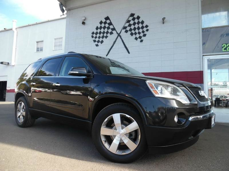 2011 GMC ACADIA SLT-1 4DR SUV black vin 1gkkrred2bj348222 this gmc acadia looks amazing it has